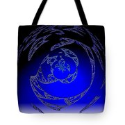 Simply Blue Tote Bag