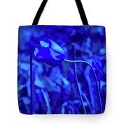 Simply Blue Pink Tulip Tote Bag