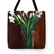 Simply Iris Tote Bag by Shannon Grissom