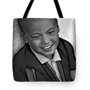 Simply Joy Bw Tote Bag