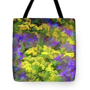 Simply Soft Colorful Garden Tote Bag