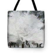 Simply Soft Essence Of Winter Tote Bag
