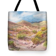 Simply The Desert Tote Bag by Jean Ann Curry Hess