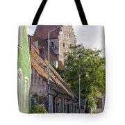 Simrishamn Street Scene Tote Bag