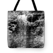 Simulated Pencil Drawing Tinker Falls. Tote Bag