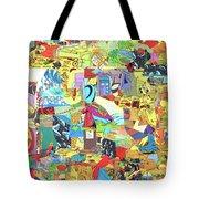 Simultaneous Dimensions #2 Tote Bag