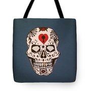 Sin Sugar Skull Tote Bag