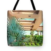 Sinatra Patio Palm Springs Tote Bag