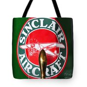 Sinclair Aircraft Pump Tote Bag