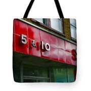 Sines 5 And 10 Tote Bag