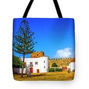 Sines Castle Tote Bag