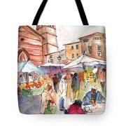 Sineu Market In Majorca 01 Tote Bag