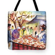 Sineu Market In Majorca 04 Tote Bag