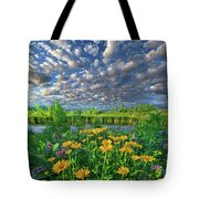 Sing For The Day Tote Bag