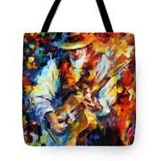 Sing My Guitar Tote Bag
