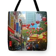 Singapore - Old And New Tote Bag