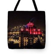 Singapore At Night Tote Bag