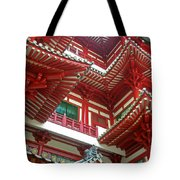 Singapore Buddha Tooth Temple Tote Bag