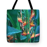 Singapore Heliconia Tote Bag