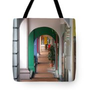 Singapore Porticoes Tote Bag