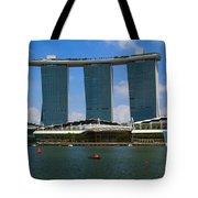 Singapore Ship Top Tote Bag