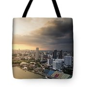 Singapore Storm Brewing Tote Bag