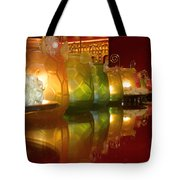 Singapore Temple Offering Lamps Tote Bag