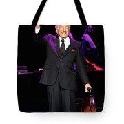 Singer Tony Bennett Tote Bag