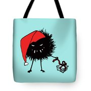 Singing And Dancing Evil Christmas Bug Tote Bag