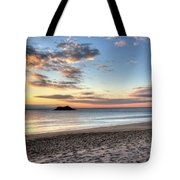 Singing Beach Manchester Ma Sunrise Island Tote Bag