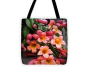 Singing Corals Tote Bag
