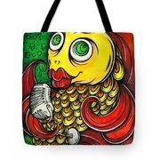 Singing Fish Tote Bag