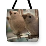 Singing In The Shop Tote Bag