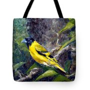 Singing Into A New Year Tote Bag