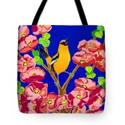 Singing Oriole Tote Bag
