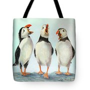 Singing Tote Bag by Phyllis Howard