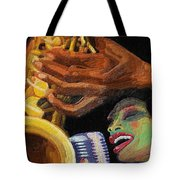 Singing The Blues Tote Bag