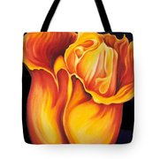 Singing Tulip Tote Bag