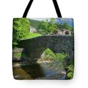 Single Arch Stone Bridge - P4a16018 Tote Bag