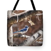 Single Blue And Available Tote Bag
