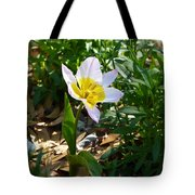 Single Flower - Simplify Series Tote Bag