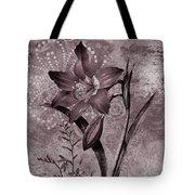 Single Lily-vintage Series  Tote Bag