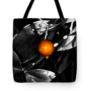 Single Orange Berry Tote Bag