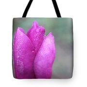 Single Pink Magnolia Tote Bag
