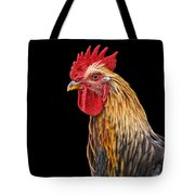 Single Rooster Tote Bag