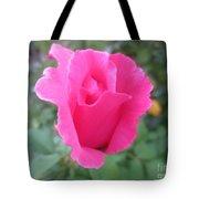 Single Rose Tote Bag
