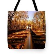Single Track Mind  Tote Bag