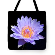 Single Water Lily Tote Bag