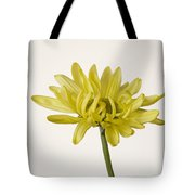 Single Yellow Daisy Tote Bag