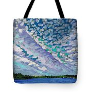 Singleton Altocumulus Morning Tote Bag